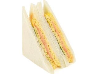 明太子マヨネーズの玉子焼サンド