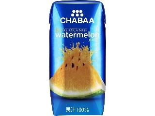 CHABAA キングオレンジウォーターメロンジュース