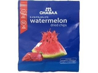 CHABAA ウォーターメロンドライチップス