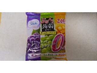 オリヒロ ぷるんと蒟蒻ゼリー 巨峰+マスカット+マンゴー