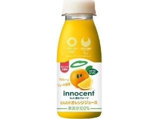 どんだけオレンジジュース つぶつぶ入り