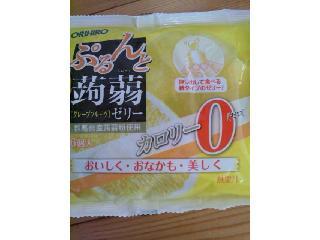 ぷるんと蒟蒻ゼリー グレープフルーツ
