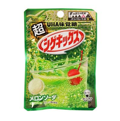ファミリーマート UHA味覚糖 超シゲキックスメロンソーダ