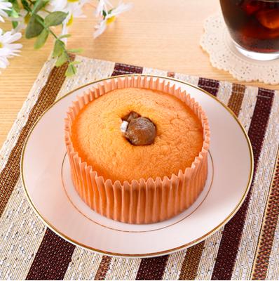 栗のケーキ(スフレシフォン風)