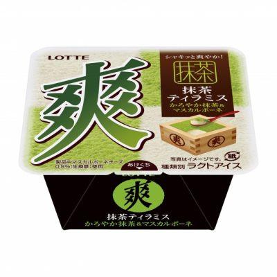 ロッテ 爽抹茶ティラミス(かろやか抹茶&マスカルポーネ)