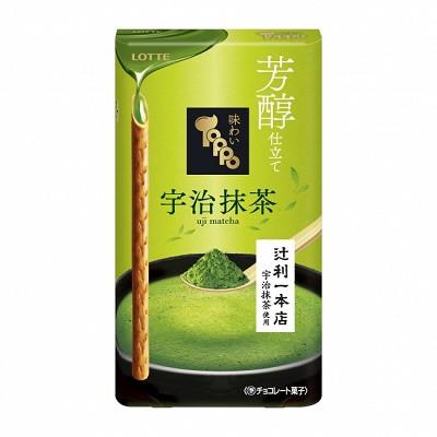 ロッテ 味わい芳醇トッポ<宇治抹茶>