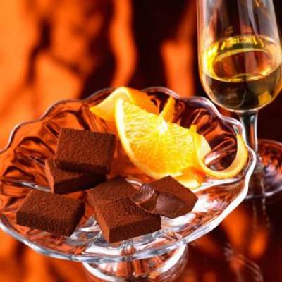 生チョコレート オレンジリキュール