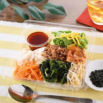 1/2日分の野菜が摂れるビビンバ風サラダランチ ファミマ