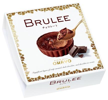 オハヨー乳業 BRULEE(ブリュレ)チョコレート