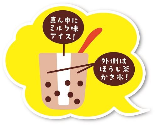 ファミリーマート タピオカほうじ茶ラテ氷