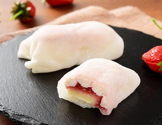 モチクルン おもちでくるん苺レアチーズ
