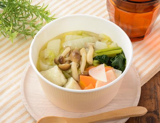 1/2日分の野菜!つみれスープ(白身魚) ローソン