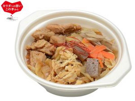 1/2日分の野菜!具たっぷり鶏味噌鍋 セブン