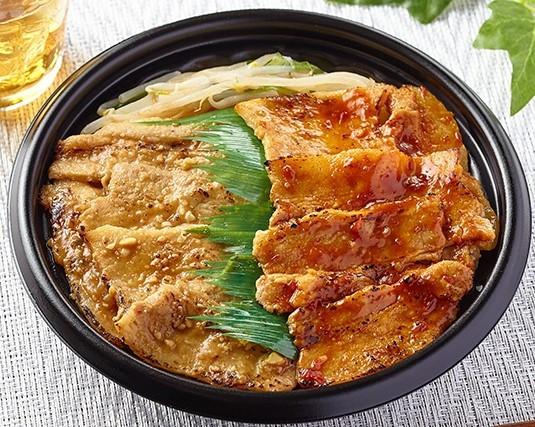 ダブル味噌豚丼