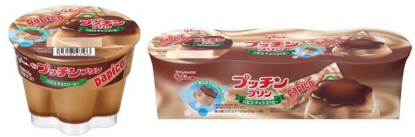 江崎グリコ プッチンプリン <パピコ チョココーヒー>