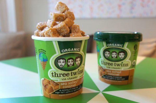 【全米人気No.1】オーガニックアイス『Three Twins Ice Cream』サンフランシスコで人気No.1だという「シーソルトキャラメル」