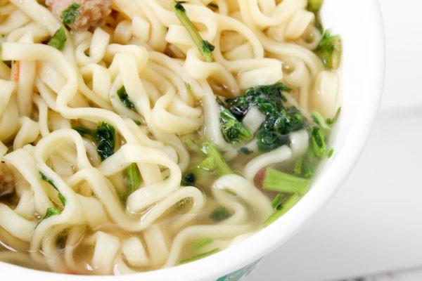 トップバリュ パクチーチキンヌードル スープ