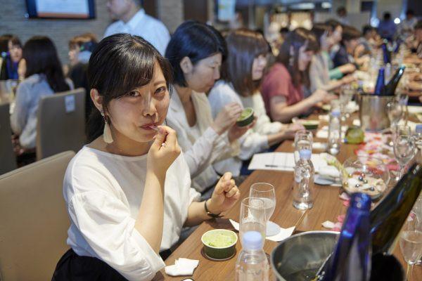 「澪」<DRY>×「MOW(モウ)宇治抹茶」試食