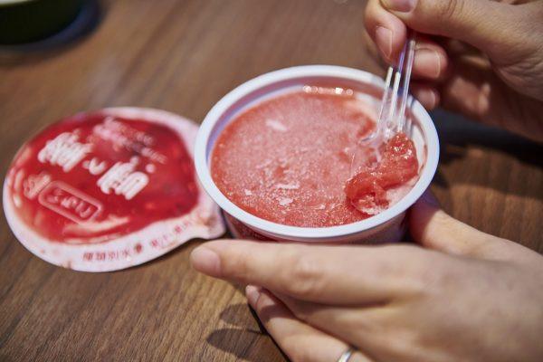 「澪」×「蜜と雪 いちご」試食