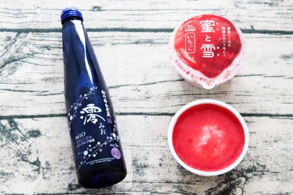「澪」×「蜜と雪 いちご」