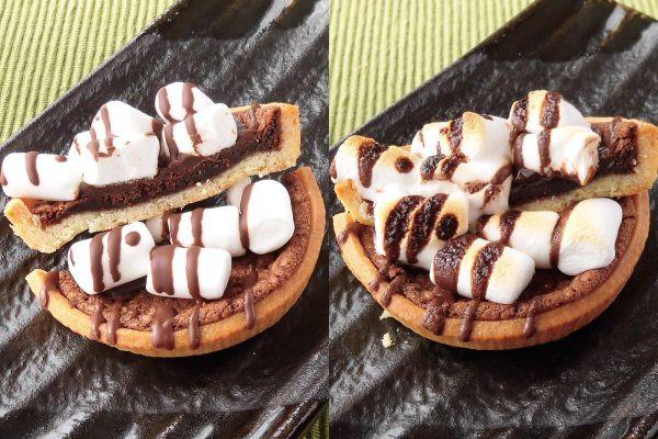 チョコクリームは2層になっています。