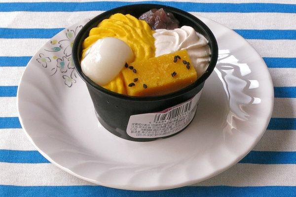 白玉にホイップ、スイートポテトに芋クリーム。