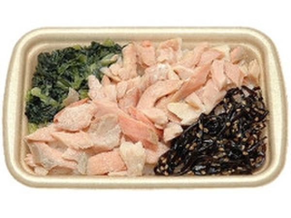 秋鮭焼きほぐし御飯