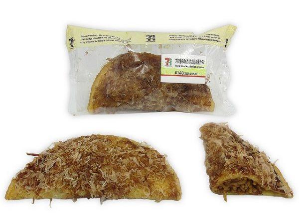 ジューシーな焼きそばをもちもち生地で包んだ、お好み焼き風総菜パン。