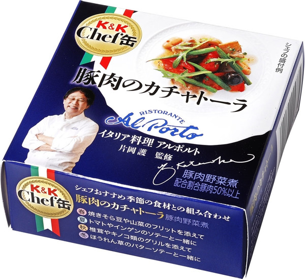 K&K Chef缶 豚肉のカチャトーラ