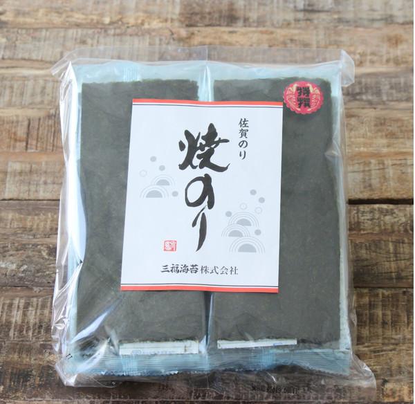 三福海苔 焼のり 袋4枚×10