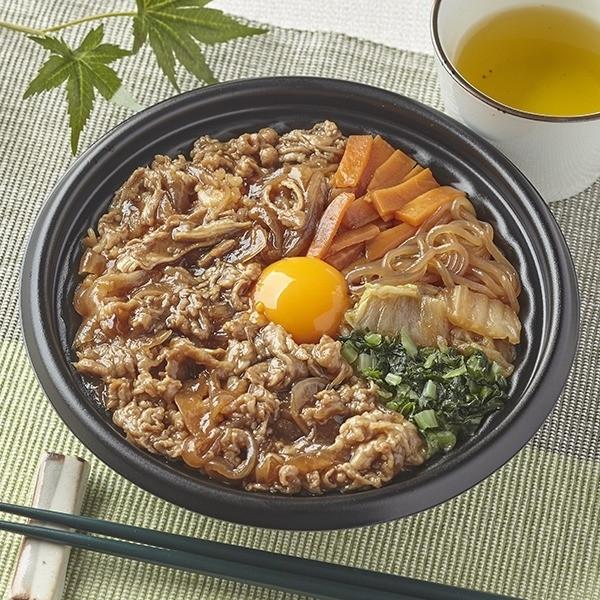 甘辛牛すき丼