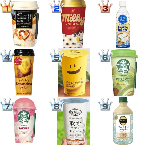 乳飲料(ラテ・オーレ)おすすめ人気BEST10!和風仕立ても、スイーツ感覚も盛りだくさん☆