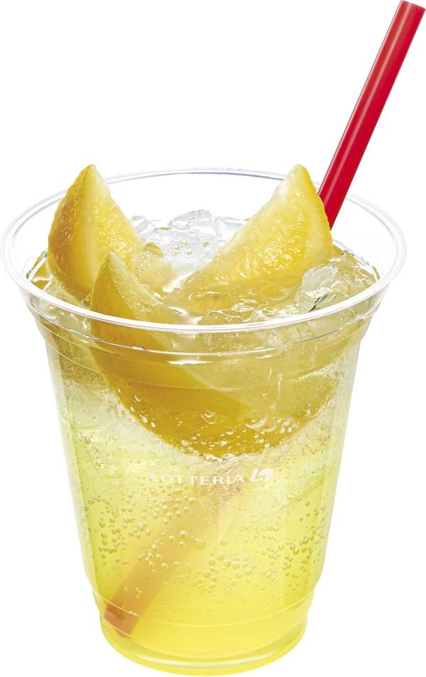 ロッテリア カチ氷レモンレモネードスカッシュ