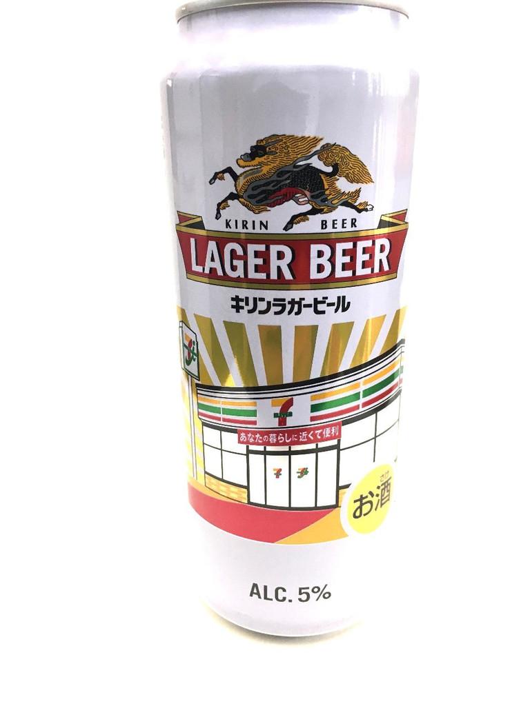 中評価】kirin ラガービール セブンイレブン2万店達成記念缶 缶500mlの